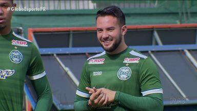 Coritiba faz última treino antes de viagem para Goiás - Coxa se prepara para enfrentar o Atlético-GO