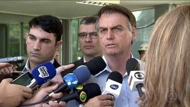 Bolsonaro se reúne com ministros e comandantes das Forças Armadas - O assunto da reunião foi o impacto da crise na Venezuela.