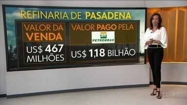 Petrobras conclui venda da refinaria de Pasadena para a Chevron - Negócio foi acertado em janeiro. Refinaria foi alvo de uma série de denúncias de corrupção investigadas pela operação Lava Jato.