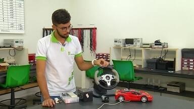Álcool X Direção: dispositivo impede funcionamento do carro em caso de consumo de bebidas - No quadro Grandes Ideias Pequenas Invenções, vamos conhecer a criação do jovem Jaidison Pimenta.