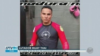Lutador de artes marciais desaparece após cobrar dívida em Ribeirão Preto - Leonardo Ruiz foi visto pela última vez ao sair de moto de vidraçaria no Parque Industrial Tanquinho.