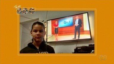 Telespectadores enviam fotos para o Bom Dia Goiás - Veja imagens ao vivo.