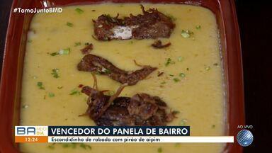 Panela de Bairro: receita de escondidinho de rabada vence a disputa do mês de abril - Quadro completa quatro anos premiando chefs de cozinha de Salvador e outras cidades baianas.