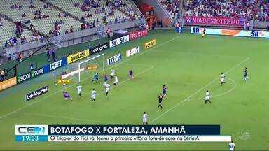 Fortaleza se prepara para enfrentar o Botafogo, no Rio de Janeiro - Saiba mais em g1.com.br/ce
