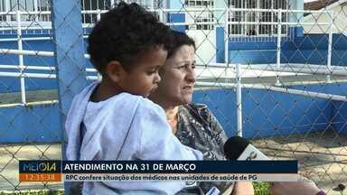 Moradores reclamam da falta de médico em postos de saúde de Ponta Grossa - Pacientes contam que há falta de profissionais há quase um mês na USB do bairro Palmeirinha.