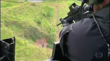 Moradores de Angra dos Reis dizem que tenda de evangélicos foi alvejada pela polícia - Os tiros aconteceram durante uma operação policial que contou com a presença do governador Wilson Witzel.