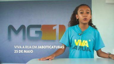 Vem aí: Viva a Rua em Jaboticatubas - Projeto chega à cidade no dia 25 de maio