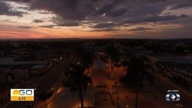 Veja como deve ficar o tempo em Goiás nesta quinta (9) - Confira ainda o amanhecer em algumas cidades do estado.