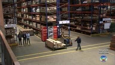 Centro de distribuição de produtos em Jundiaí sente movimento do Dia das Mães - A correria já é grande em centros de distribuição de produtos da região. O maior deles na América Latina fica em Jundiaí (SP).