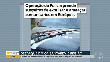 Operação policial em Rurópolis é destaque no G1 Santarém e região - Veja essa e outras notícias pelo celular, tablet e computador.