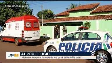 Jovem é morta com um tiro na casa do namorado, em Jataí - Segundo a Polícia Civil, namorado não foi encontrado e é suspeito de cometer o crime.