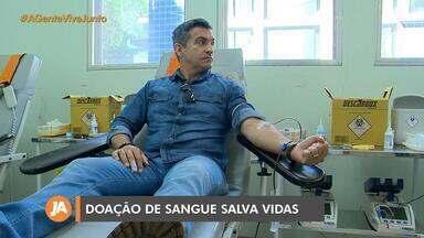 Empresário foi salvo por doações de sangue após sofrer acidente - Assista ao vídeo.