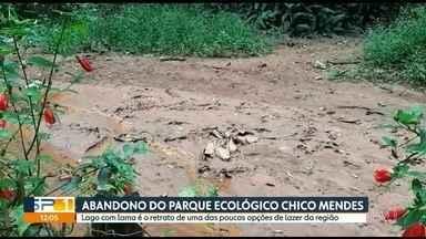 Parque Chico Mendes está abandonado na zona leste - SP1 acompanha a situação do parque Chico Mendes desde 2017