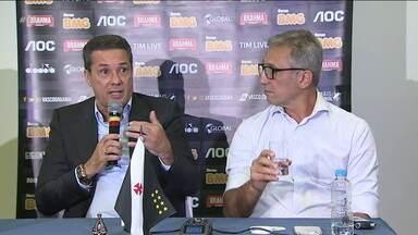 Ainda sem Luxemburgo no banco, Vasco enfrenta o Santos neste domingo pelo Brasileirão - Ainda sem Luxemburgo no banco, Vasco enfrenta o Santos neste domingo pelo Brasileirão