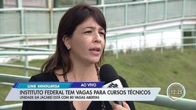 Instituto Federal de São Paulo tem 450 vagas abertas para cursos técnicos - Em Jacareí são 80 vagas.