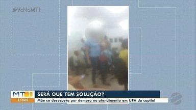 Superlotação e demora na UPA da Morada do Ouro - Superlotação e demora na UPA da Morada do Ouro.