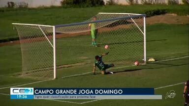 Campo Grande quer encaminhar classificação para a próxima fase - Confira mais notícias em g1.globo.com/ce