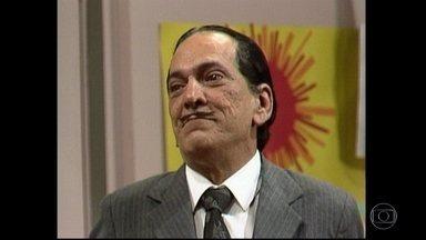Lúcio Mauro conquistou gerações com personagens inesquecíveis - Lúcio Mauro teve uma vida artística intensa. Fez rádio, teatro, cinema, mas foi na televisão que conquistou gerações, com personagens inesquecíveis.