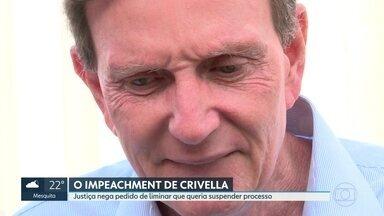 Justiça nega pedido de liminar que queria suspensão de impeachment de Crivella - Pedido foi feito pela defesa do Prefeito que apontou problemas na denúncia inicial.