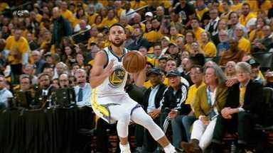 O Golden State Warriors venceu por 116 x 94 o Portland Trail Blazers, pela NBA - O Golden State Warriors venceu por 116 x 94 o Portland Trail Blazers, pela NBA