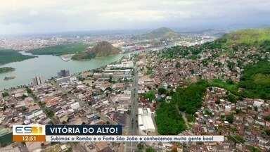 Reportagem sobe o Morro do Romão e Forte São João, conhece histórias e a vista da cidade - Os mirantes do Forte do São João e do Romão estão abertos 24 horas por dia.