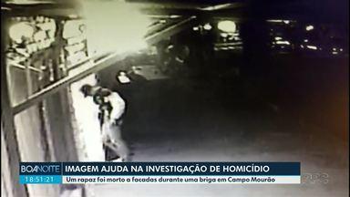 Imagem ajuda na investigação de homicídio - Dois homens estão presos suspeitos do assassinato de jovem em Campo Mourão