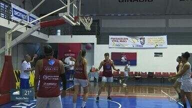 Campinas basquete espera mais dificuldades na sequência da Liga Nacional - Atletas de Campinas (SP) se preparam para enfrentar sequência difícil no campeonato.