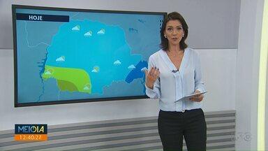 Confira como fica o tempo hoje em Maringá e região - Previsão é de tempo estável.