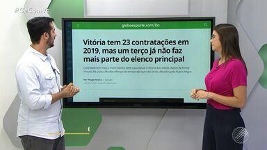 Confira os destaques do GloboEsporte.com/ba desta quinta-feira - Confira a análise do comentarista Gustavo Castelucci.