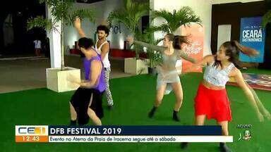 Evento no aterro da praia de Iracema segue até o sábado - Confira mais notícias em g1.globo.com/ce