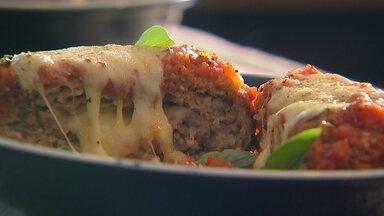 Aprenda a fazer uma deliciosa receita de polpetone - Receita de origem italiana é recheada e fica uma delícia.