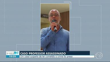 Suspeitos de matar professor em Arcoverde são presos - Crime aconteceu na madrugada da quarta-feira (15).