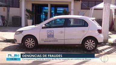 Corregedoria Geral da Justiça faz inspeção em cartório de Búzios, no RJ - Ação foi após denúncias de fraudes.