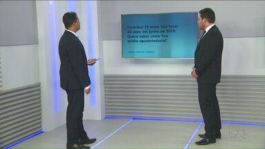 Advogado tira dúvidas sobre aposentadoria - O Boa Noite Paraná responde as perguntas dos telespectadores sobre a Reforma da Previdência.
