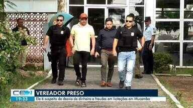 Vereador preso é suspeito de desvio de dinheiro e fraudes em licitações - Confira mais notícias em g1.globo.com/ce