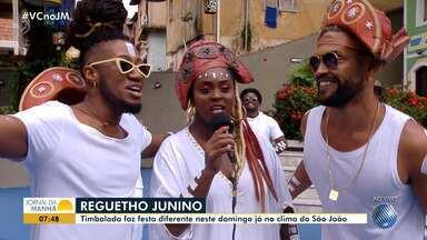 'Reguetho': Timbalada promove festa diferente já em clima de São João - Confira os detalhes da festa e programe-se.