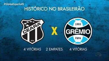 Grêmio embarca para Fortaleza para enfrentar o Ceará pelo Brasileirão - Time precisa de uma vitória para sair da zona de rebaixamento do campeonato.