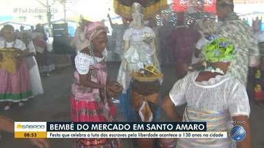 Tradição: Festa do Bembé do Mercado movimenta Santo Amaro - Evento celebra a luta dos escravos pela liberdade e já acontece há 130 anos