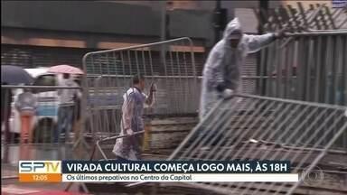 Av. Paulista ficará aberta ao público por 24h, durante toda virada cultural - Justiça derrubou a liminar que proibia o fechamento da via para os carros.