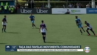 As histórias dos jogadores que disputam a Taça das Favelas - O cotidiano de quem luta pra participar do sonho de jogar futebol.