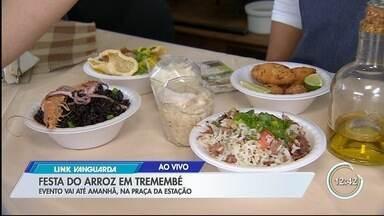 Festa do arroz é atração em Tremembé - Pratos são doces e salgados.