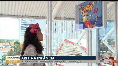 Arte ajuda no desenvolvimento das crianças - Arte ajuda no desenvolvimento das crianças