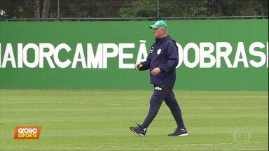 Palmeiras e Santos fazem clássico no Pacaembu - Palmeiras e Santos fazem clássico no Pacaembu