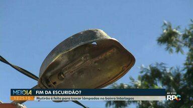 Secretaria de obras identifica mais de 3 mil pontos sem luz em Cascavel - Entenda o motivo das trocas demorarem tanto.