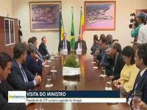 Presidente STF visita Amapá - Dias Toffoli conversou com magistrados, procuradores e outras autoridades, num movimento de aumentar a integração do poder judiciário
