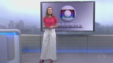 Globo Comunidade RJ - Íntegra de 19/05/2019 - Noticiário que traz assuntos de interesse da comunidade, como qualidade de vida e urbanismo.
