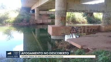 Homem morre afogado na barragem do Descoberto - Vítima foi mergulhar e não voltou. Ele morreu no local.