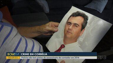 Crime sem solução - Polícia não tem pistas de quem assassinou contador em 2014.