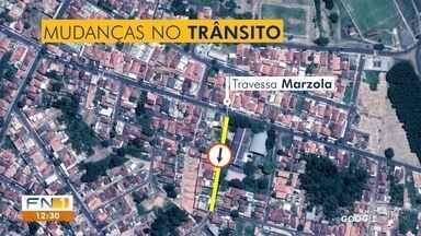 Alterações no trânsito criam transtornos a motoristas em Presidente Prudente - Prefeitura informou que está ciente das reclamações.