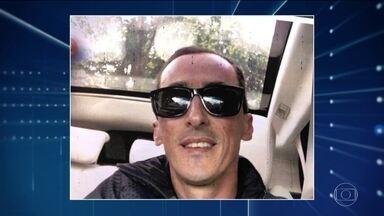 Polícia identifica suspeito de matar morador de rua em Santo André (SP) - Justiça decretou a prisão temporária de Marcelo Pereira de Aguiar. Ele é dono de uma pizzaria e teria se desentendido com o morador de rua que estaria incomodando fregueses.